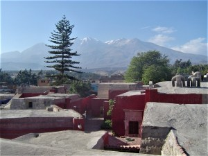 Rooftop view of Arequipa.