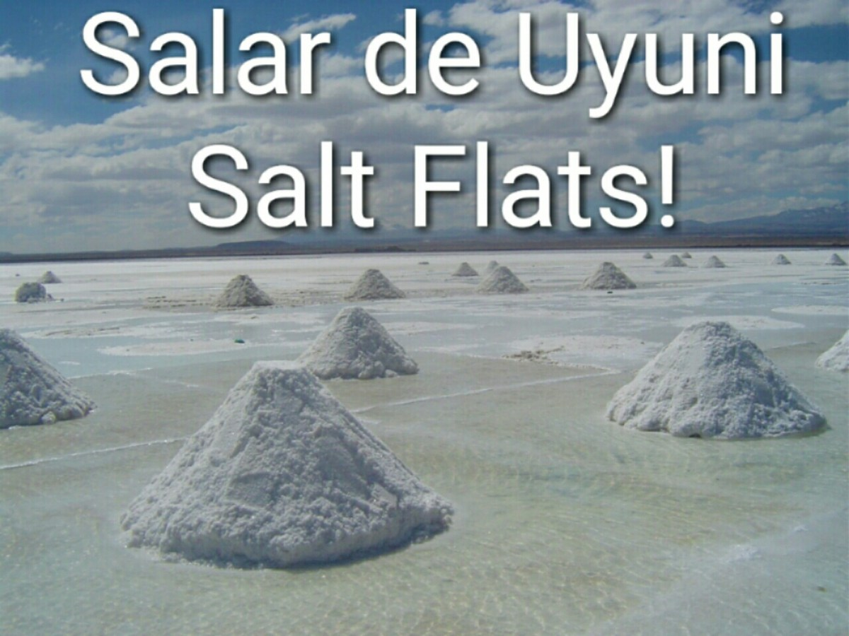 The Uyuni Salt Flats are the Largest in the World!