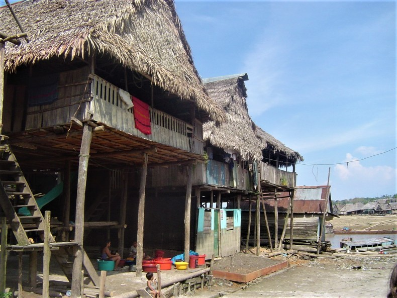 The district of Belen with its ramshackle houses is a district in Iquitos that you must visit.