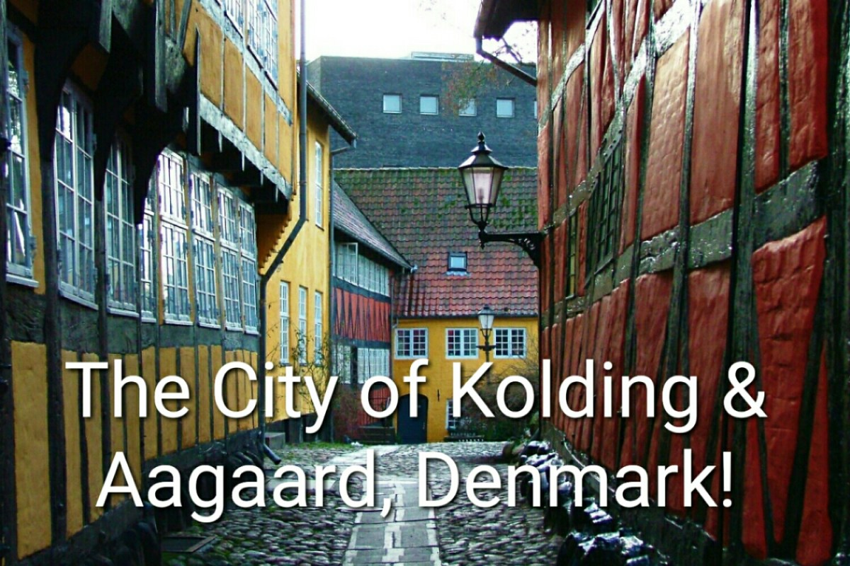 The City of Kolding and Gymnastics in Aagaard, Denmark!