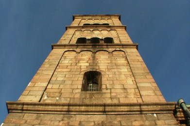 The Viborg Cathedral Tower.