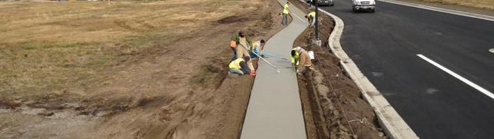 Concrete Construction | Sidewalks | Treasure State, Inc. | Belgrade, MT