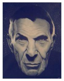 Leonard Nimoy - acrylic