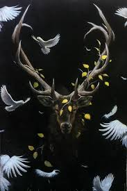 """King of the Forest"" oil on canvas"