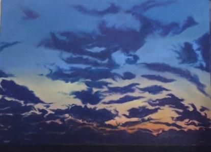 """""""Dardanelles Dawn"""" oil on canvas. 40"""" x 44"""""""