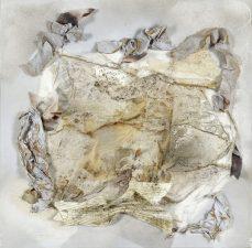 Textural I, Acrylic/Mixed Media, Floater Frame