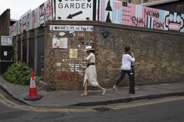Corbet Place, Spitalfields, London, Pigment inkjet print