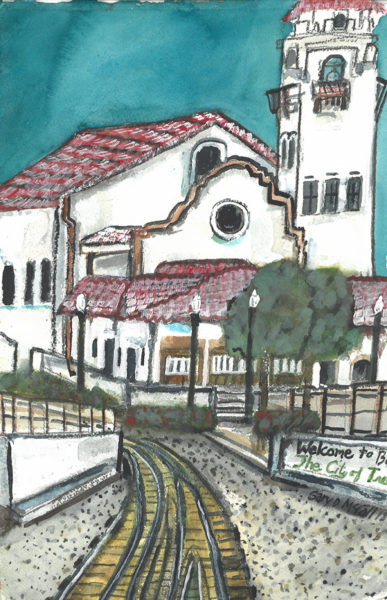 McCall Gary_Boise Depot_Watercolor