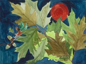 gardiner mary_oaktreefaery_watercolor_12x16