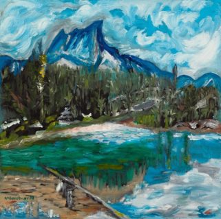 gardiner mary_soartooth_oil_17x17