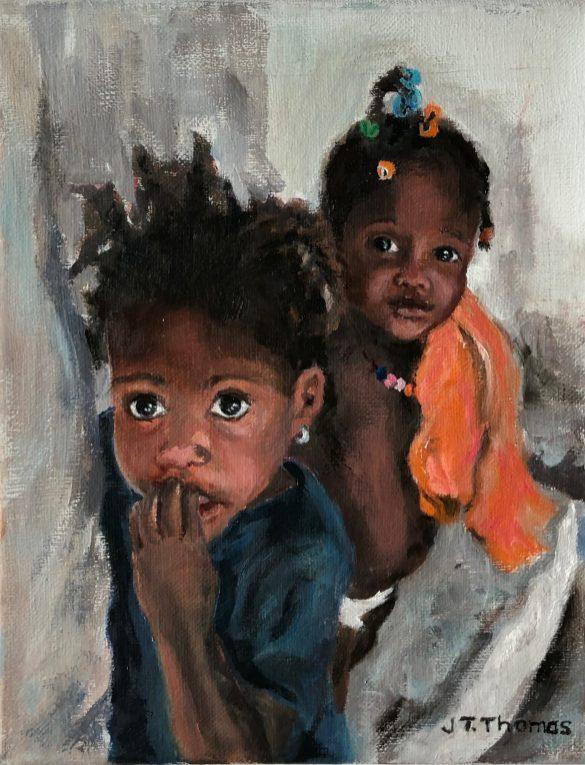 Joan Thomas, Little Haitian Girls