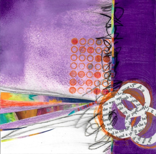 Debby Graf cruciform_purple_orange