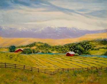 """Ranch Hay Down"", Oil, 11x14"
