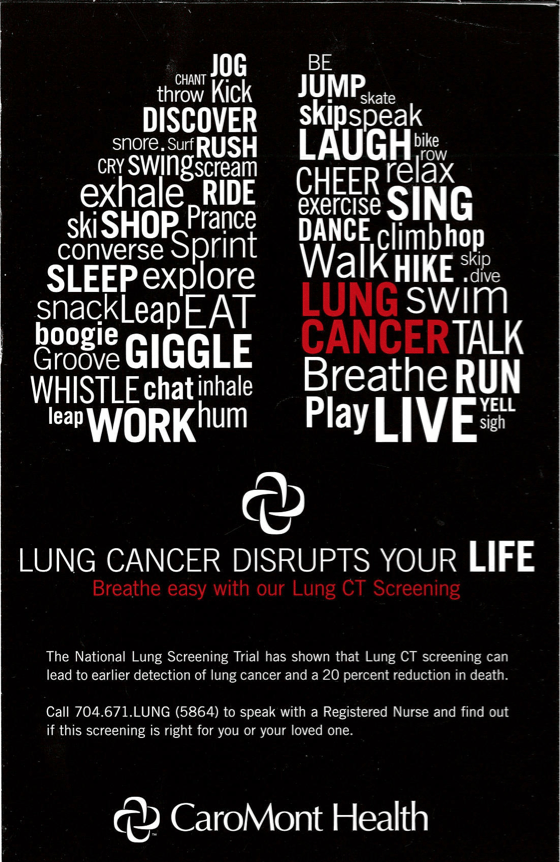 National Lung Cancer Awareness Month | Southeast Radiation Oncology