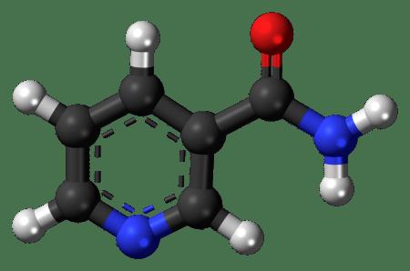 Nicotinamide_3D_ball