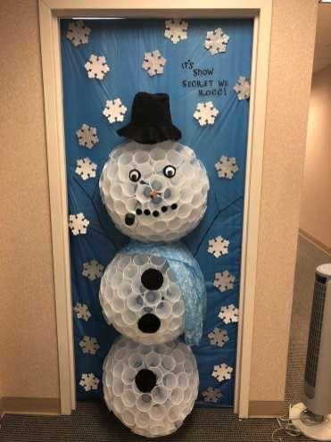 Christmas Door 5
