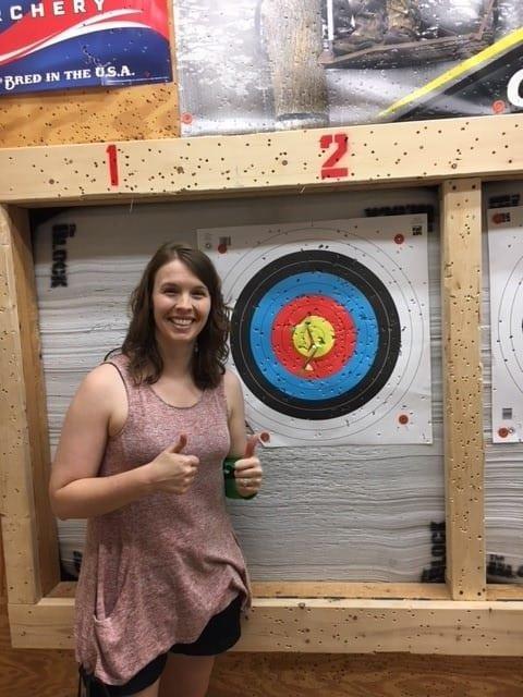 Courtney - archery