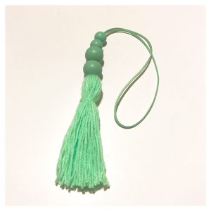 Mint tassel wall hangings