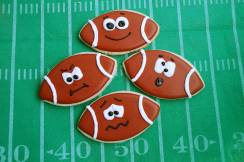 Game face cookies