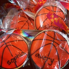 Basketball team favors