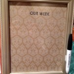 Homemade Gift Tradition:  DIY Dry Erase Board