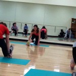 Highlights from the Weekend:  High Heel Workout, Fitness Certification, Valentine's Dance, and More Moving!