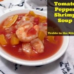 Tomato Pepper Shrimp Soup