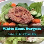 Easy Peasy White Bean Burgers