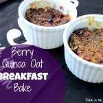 Long Love Fruit:  Berry Quinoa Oat Breakfast Bake