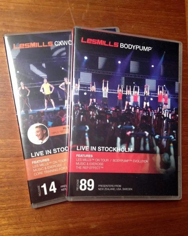bodypump 89 and cx 14