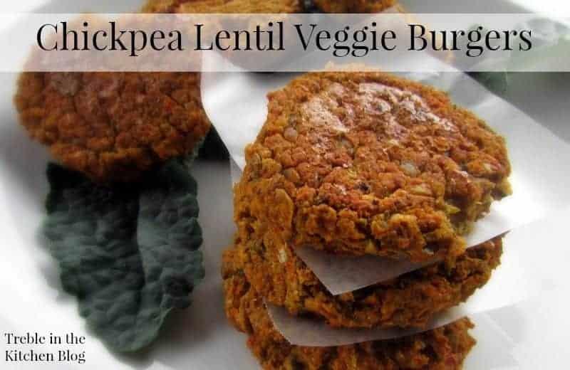 Chickpea Lentil Veggie Burgers via Treble in the Kitchen.jpg