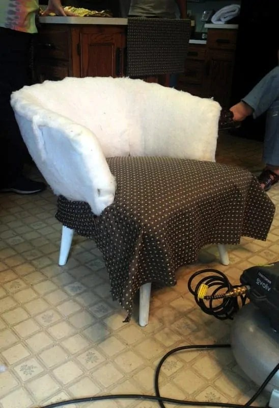 recovering chair