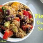 Fiesta Quinoa Salad–Flavoring with Lemon Instead of Salt
