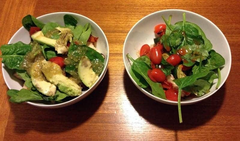 quinoa bowl dinner