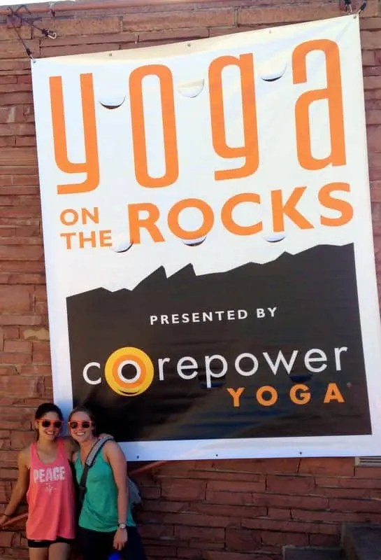 CorePower Yoga on the Rocks via Treble in the Kitchen