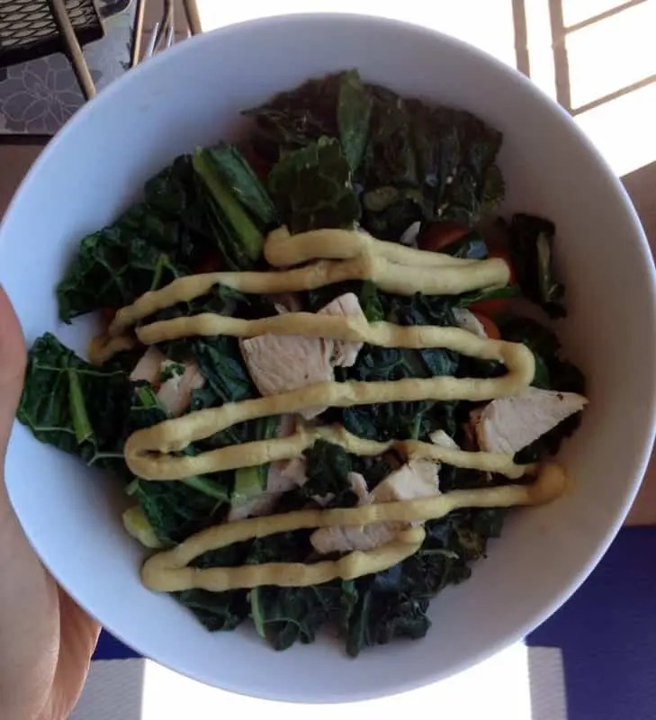 Lunch Salad    Treble in the Kitchen
