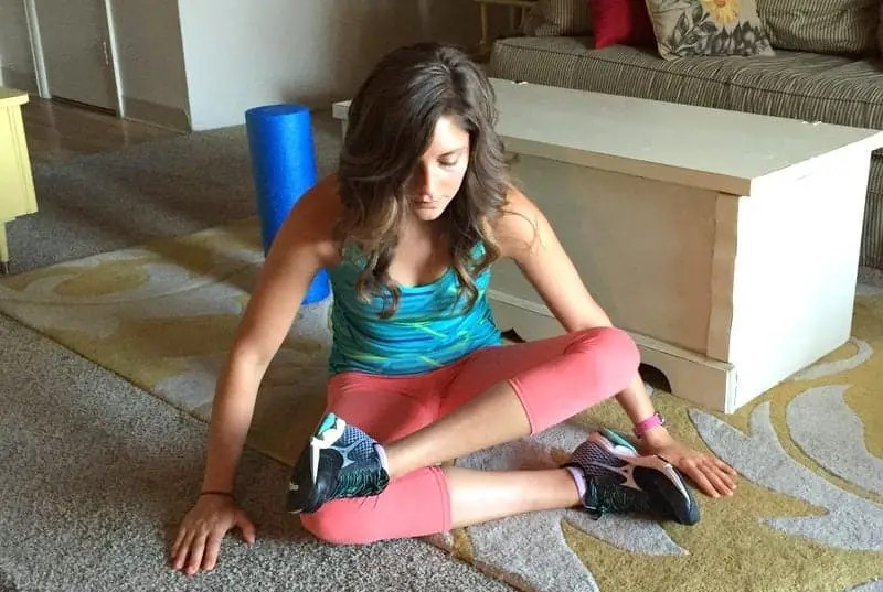 Stretches for Long Runs from Treble in the Kitchen