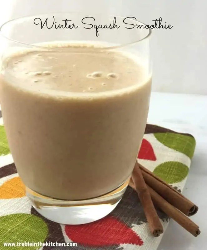 Winter Squash Smoothie from Treble in the Kitchen