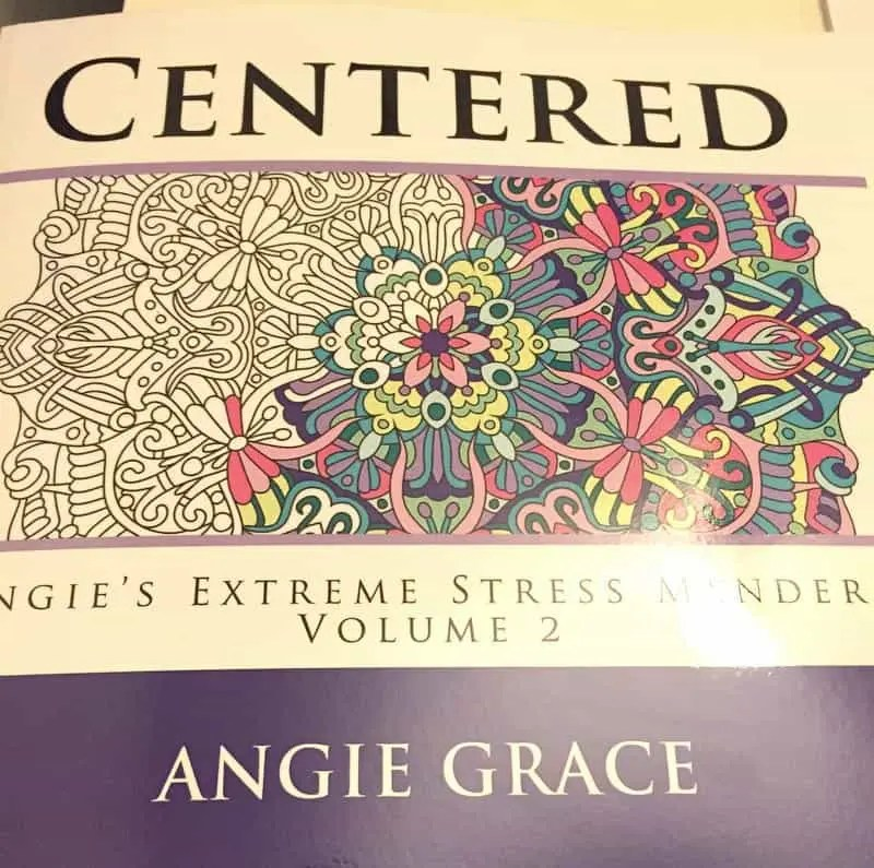 Centered Coloring Book