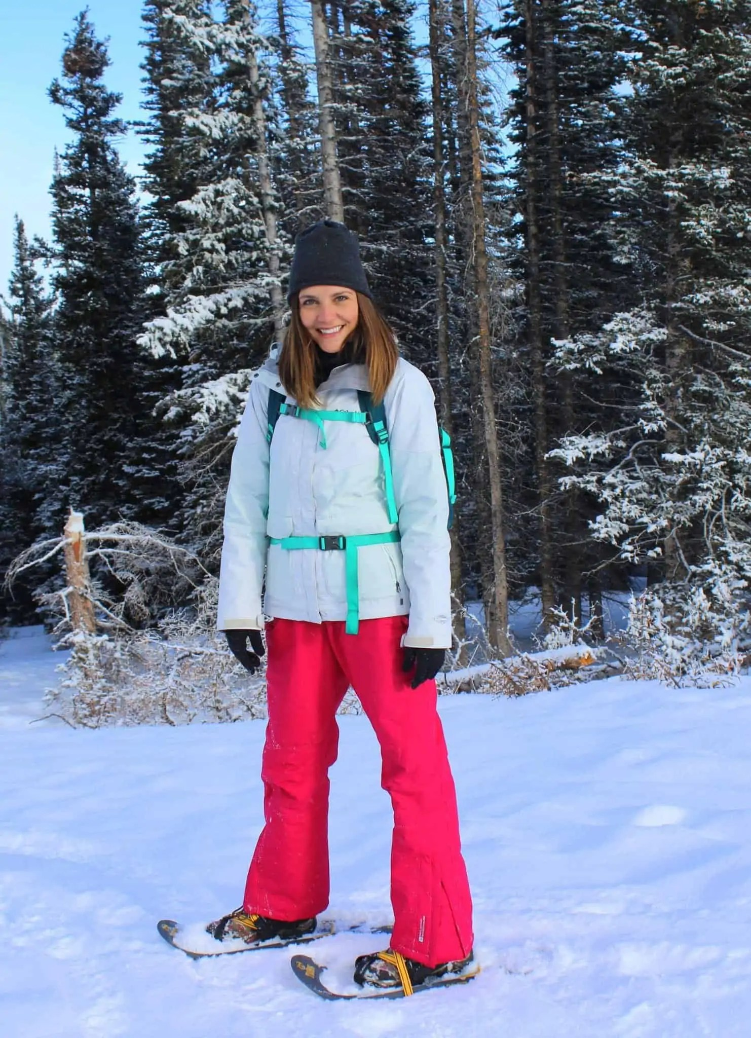 Snowshoeing at Brainard Lake from Treble in the Kitchen