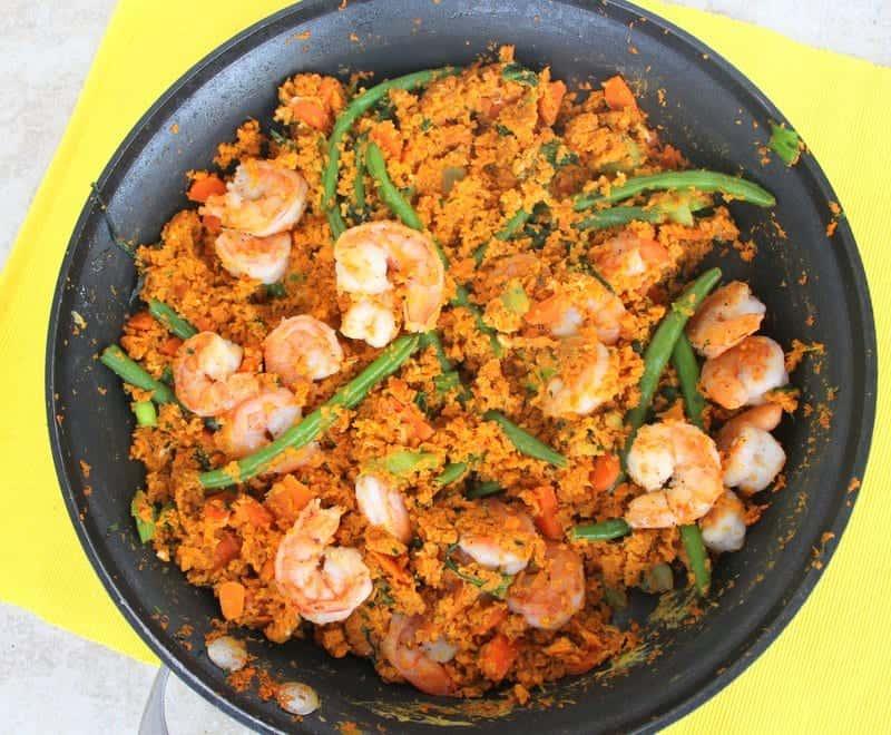 Sweet Potato Fried Rice | Treble in the Kitchen