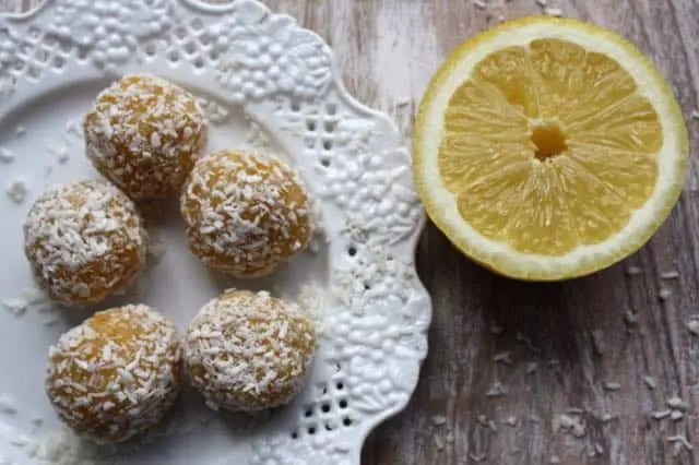 lemon tart bites by kate scarlata
