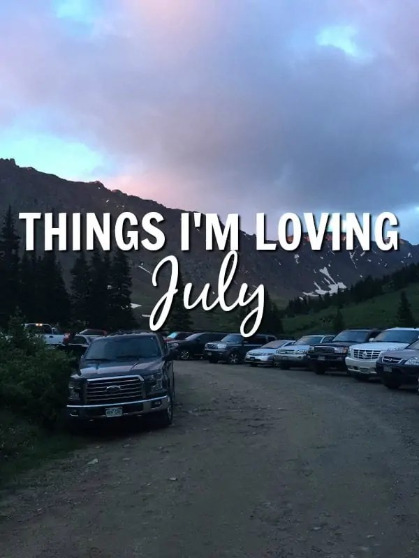 Things I'm Loving July 2016 from Treble in the Kitchen