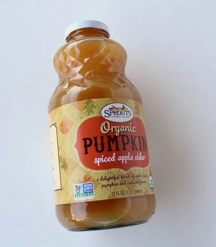 Sprouts Pumpkin Apple Cider