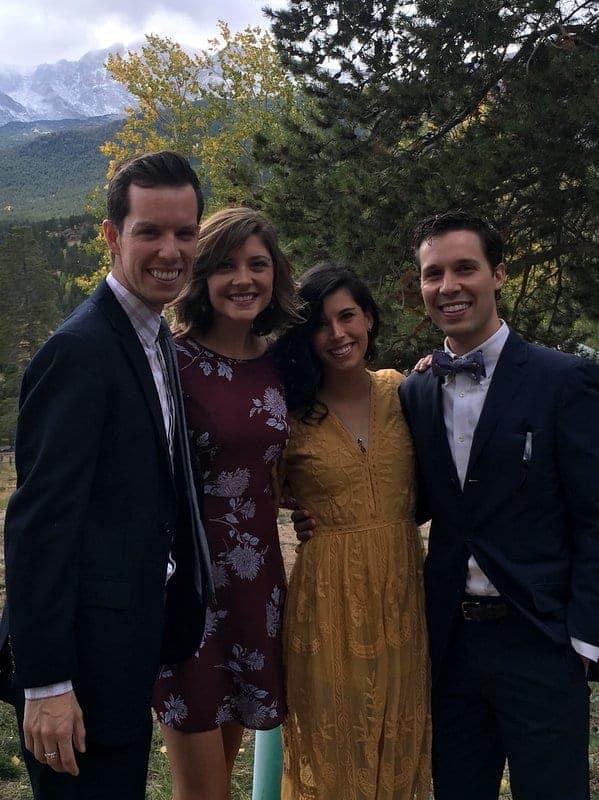 Wedding in Estes Park Colorado