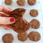 Walnut Ginger Cookies