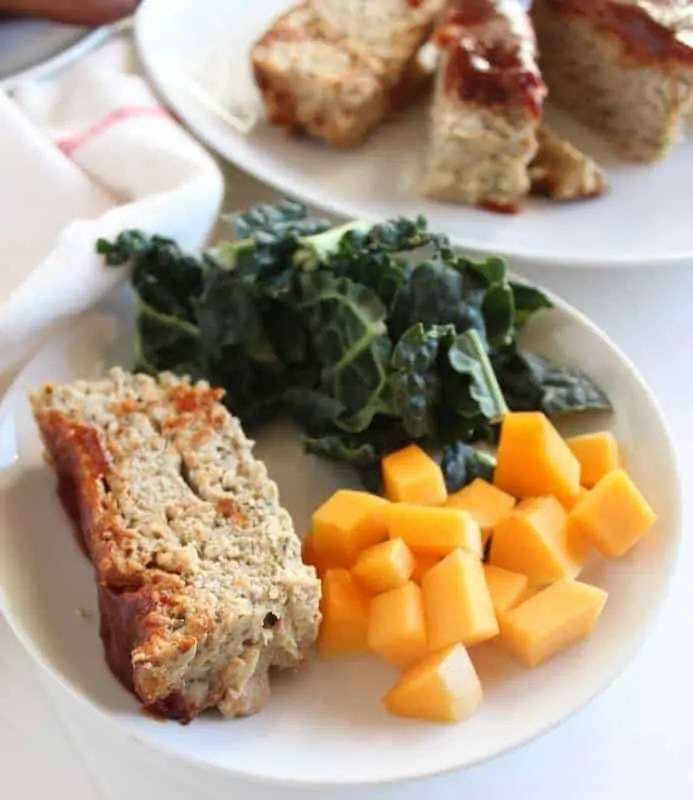 low FODMAP BBQ Chicken Meatloaf - gluten free, dairy free