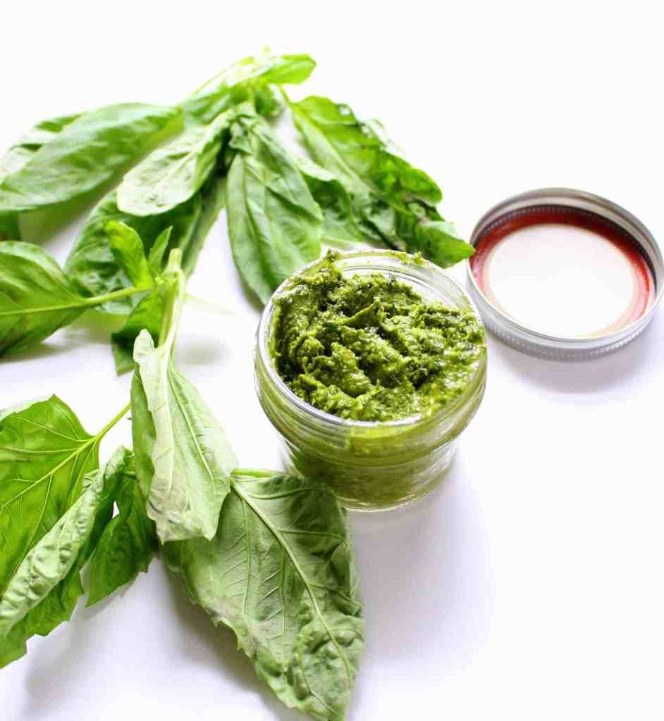Avocado Oil Pesto - low FODMAP, gluten free, grain free, dairy free