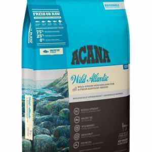Acana Wild Atlantic cat food front of bag