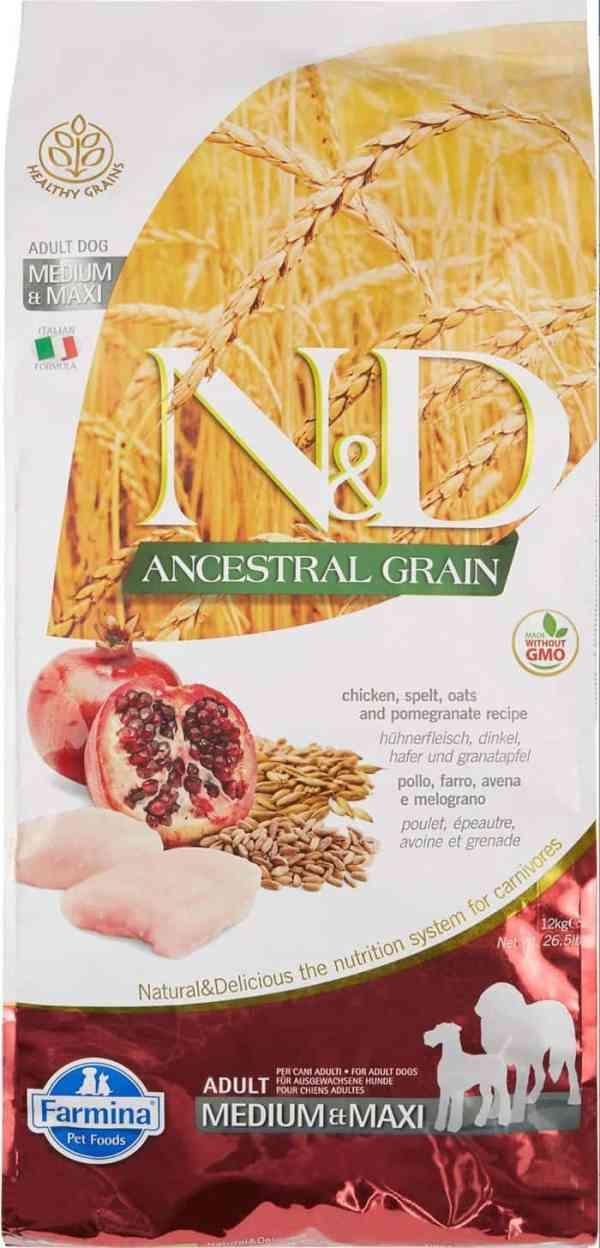 Farmina N&D Ancestral Grain Chicken Pomegranate